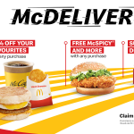 McDelivery Fest 9th Sept to 28th