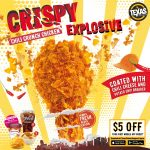 texas chicken 5 off first mobile app order